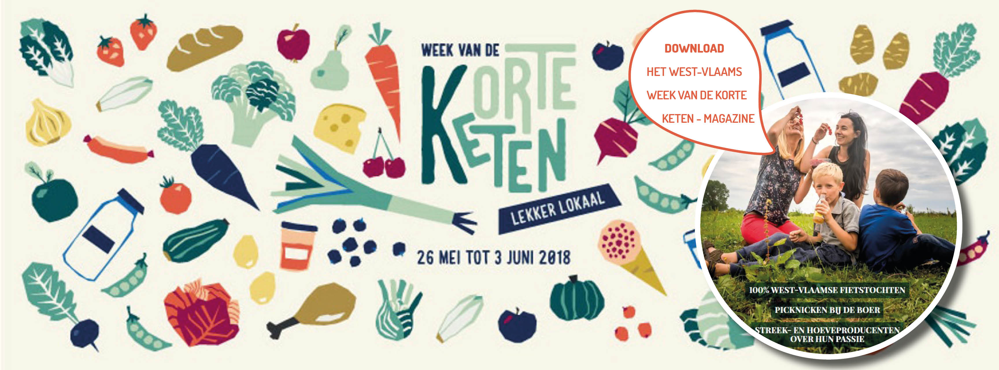 Download het West-Vlaamse magazine van de Week van de Korte Keten